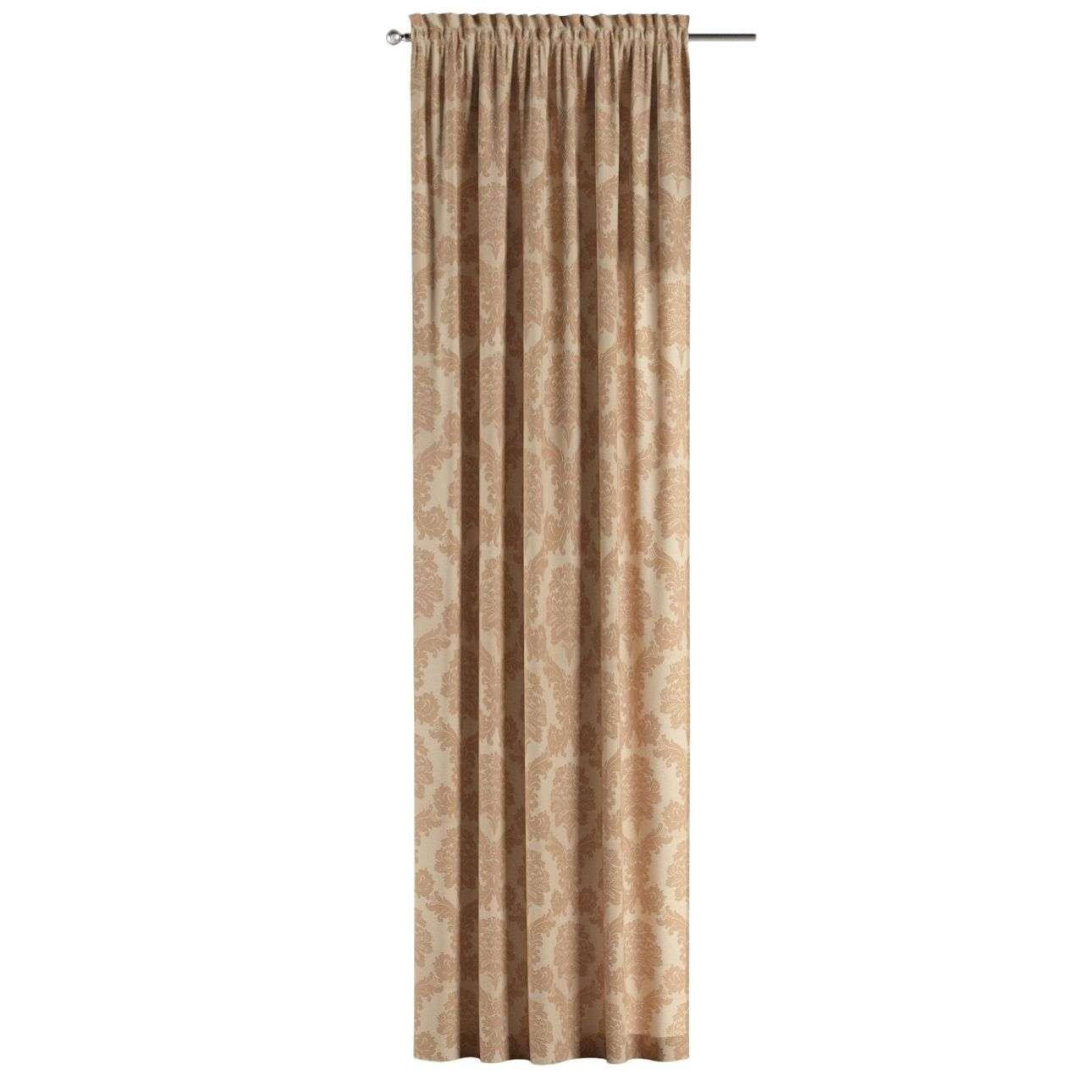 Záves s navliekacou riasiacou páskou V kolekcii Damasco, tkanina: 613-04