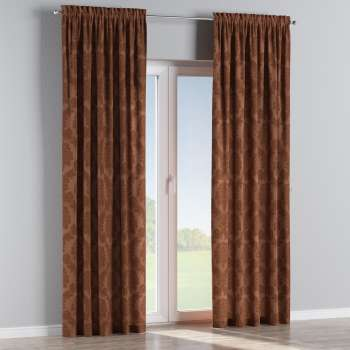 Slot and frill curtains 130 x 260 cm (51 x 102 inch) in collection Damasco, fabric: 613-88