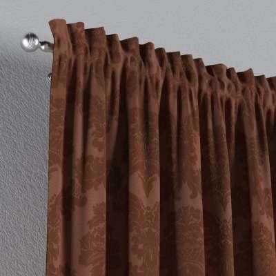 Záves s navliekacou riasiacou páskou V kolekcii Damasco, tkanina: 613-88