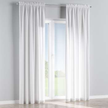 Slot and frill curtains in collection Jupiter, fabric: 127-01