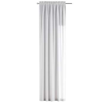 Slot and frill curtains 130 x 260 cm (51 x 102 inch) in collection Jupiter, fabric: 127-01