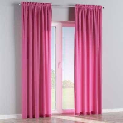 Vorhang mit Tunnel und Köpfchen 127-24 rosa Kollektion Jupiter