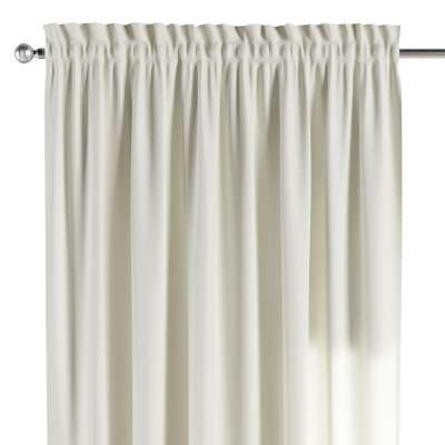 Slot and frill curtain 127-00 ivory   Collection Jupiter