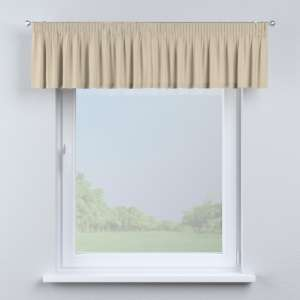 Kurzgardine mit Kräuselband 130 x 40 cm von der Kollektion Cotton Panama, Stoff: 702-01
