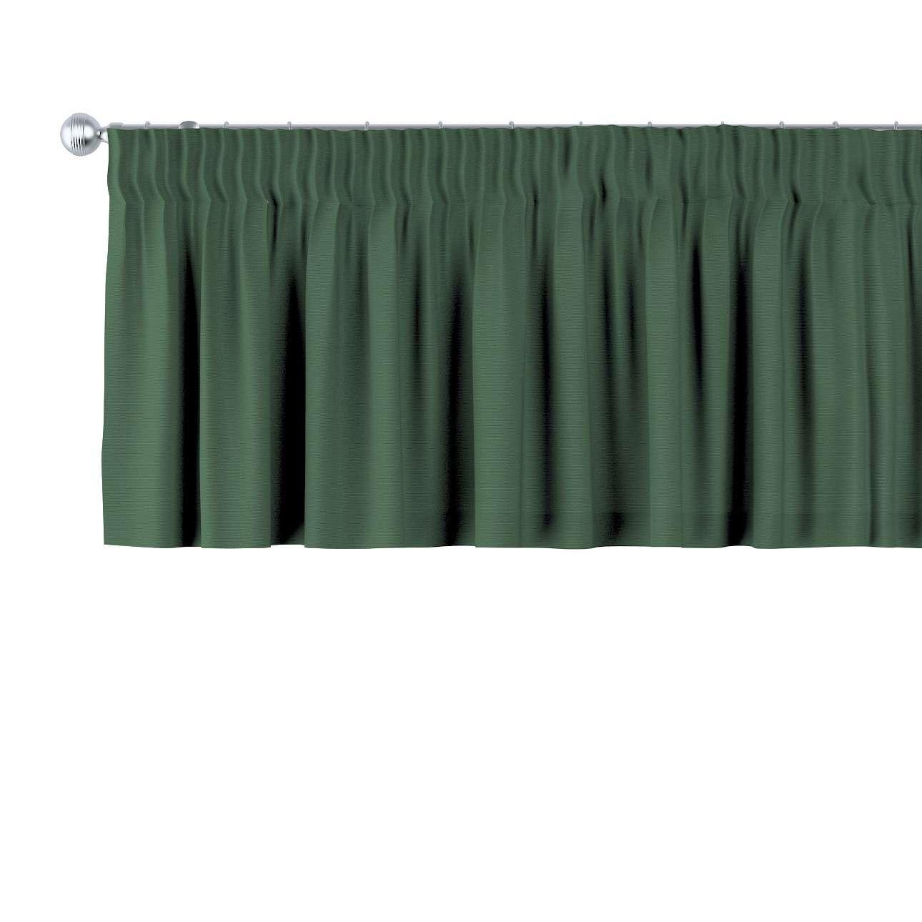 Gardinkappe med rynkebånd 130 x 40 cm fra kolleksjonen Cotton Panama, Stoffets bredde: 702-06