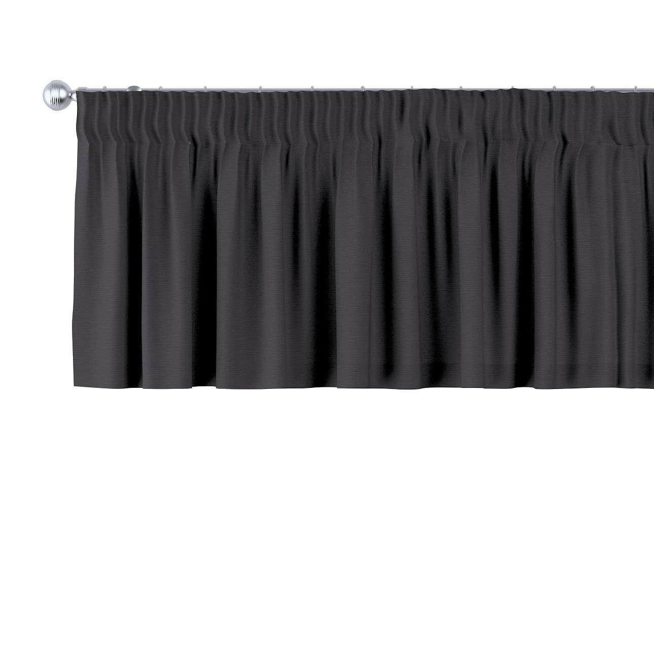 Kurzgardine mit Kräuselband 130 x 40 cm von der Kollektion Cotton Panama, Stoff: 702-08