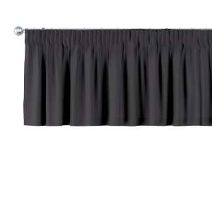 Krátky záves na riasiacej páske 130 x 40 cm V kolekcii Cotton Panama, tkanina: 702-08