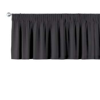 Gardinkappe med rynkebånd 130 × 40 cm fra kollektionen Cotton Panama, Stof: 702-08