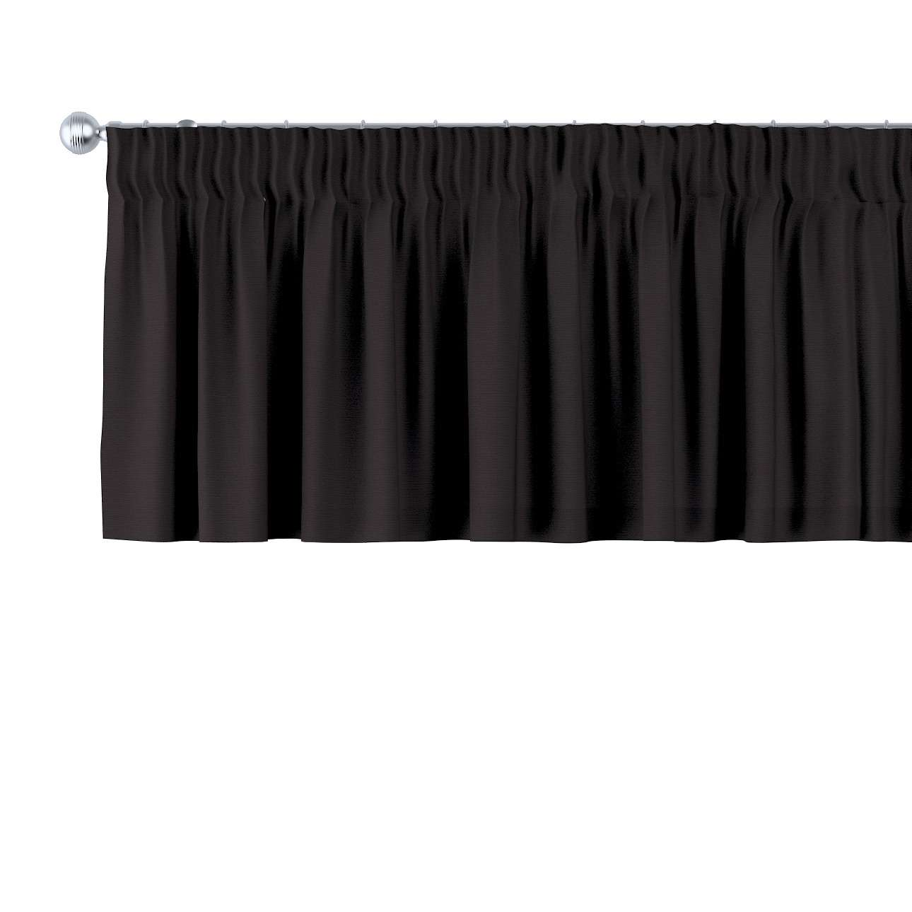 Gardinkappe med rynkebånd 130 × 40 cm fra kollektionen Cotton Panama, Stof: 702-09