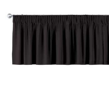 Kurzgardine mit Kräuselband 130 x 40 cm von der Kollektion Cotton Panama, Stoff: 702-09
