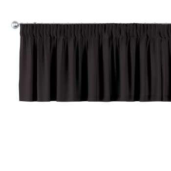 Pencil pleat pelmet 130 x 40 cm (51 x 16 inch) in collection Cotton Panama, fabric: 702-09