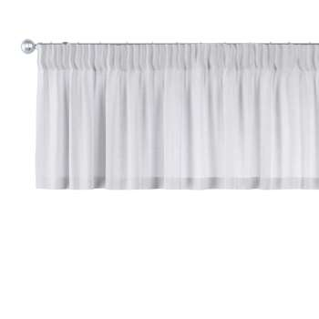 Pencil pleat pelmet in collection Linen, fabric: 392-03
