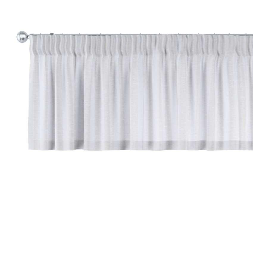 kurzgardine mit kr uselband wei 130 x 40 cm dekoria. Black Bedroom Furniture Sets. Home Design Ideas