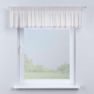 Pencil pleat pelmet 130 x 40 cm (51 x 16 inch) in collection Linen, fabric: 392-03