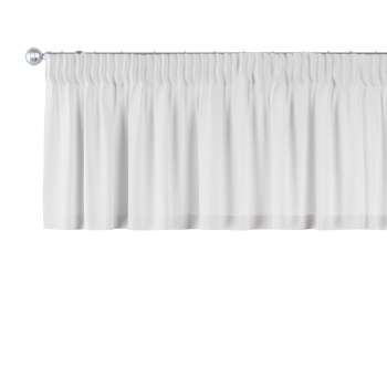 Gardinkappa med rynkband 130 x 40 cm i kollektionen Linne, Tyg: 392-04