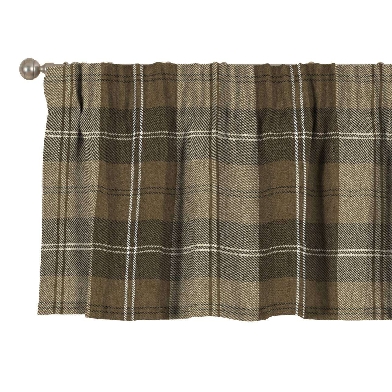 Pencil pleat pelmet 130 × 40 cm (51 × 16 inch) in collection Edinburgh, fabric: 115-76