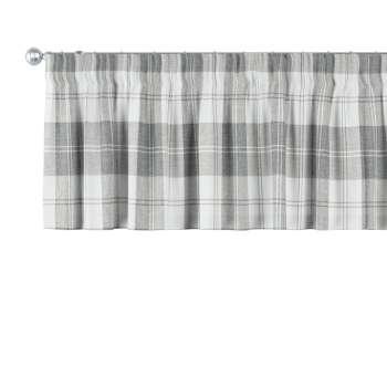 Gardinkappa med rynkband 130 x 40 cm i kollektionen Edinburgh , Tyg: 115-79