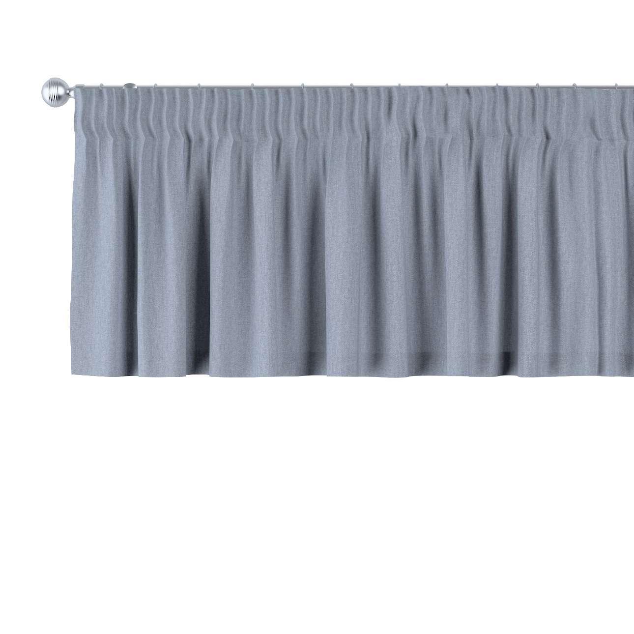 Gardinkappe med rynkebånd 130 x 40 cm fra kollektionen Chenille, Stof: 702-13