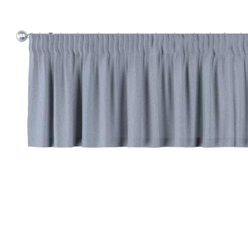 preisvergleich kurzgardine mit kr uselband silber blau 390 x 40 willbilliger. Black Bedroom Furniture Sets. Home Design Ideas