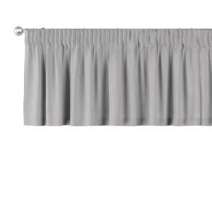 Gardinkappa med rynkband 130 x 40 cm i kollektionen Chenille , Tyg: 702-23