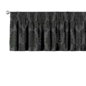Gardinkappa med rynkband 130 x 40 cm i kollektionen Damasco, Tyg: 613-32