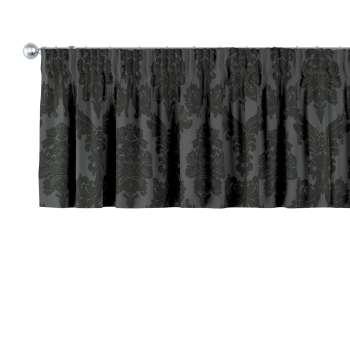 Kurzgardine mit Kräuselband von der Kollektion Damasco, Stoff: 613-32