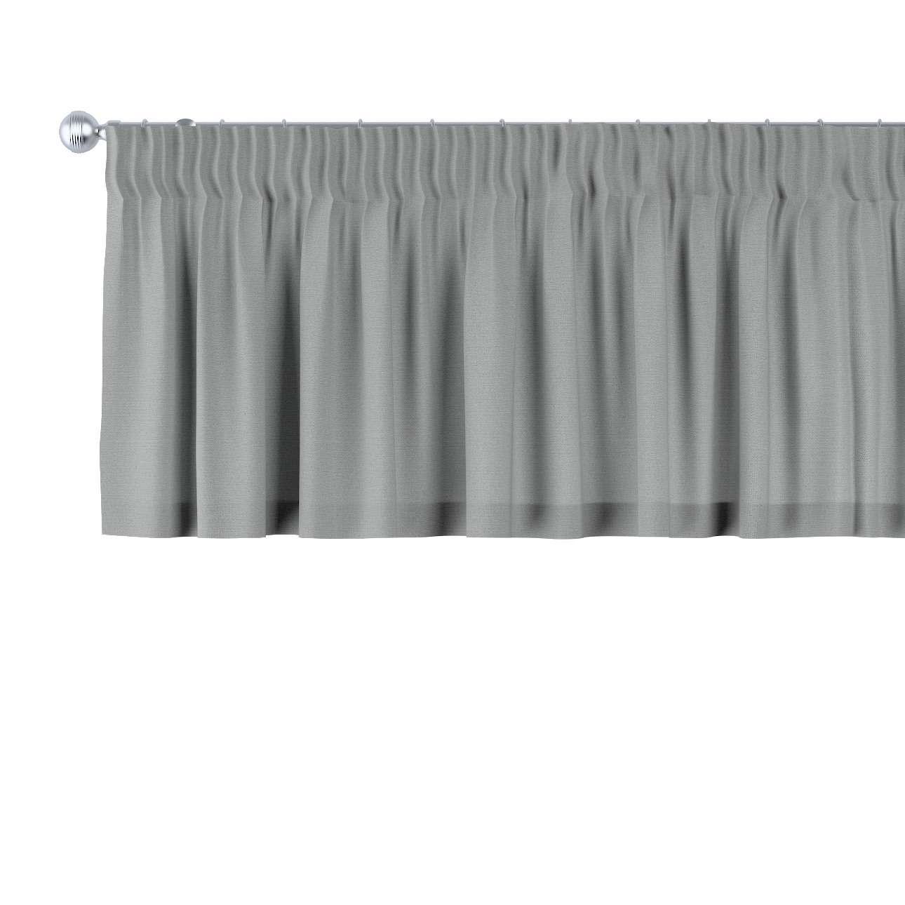 Lambrekin na taśmie marszczącej 130 x 40 cm w kolekcji Loneta, tkanina: 133-24