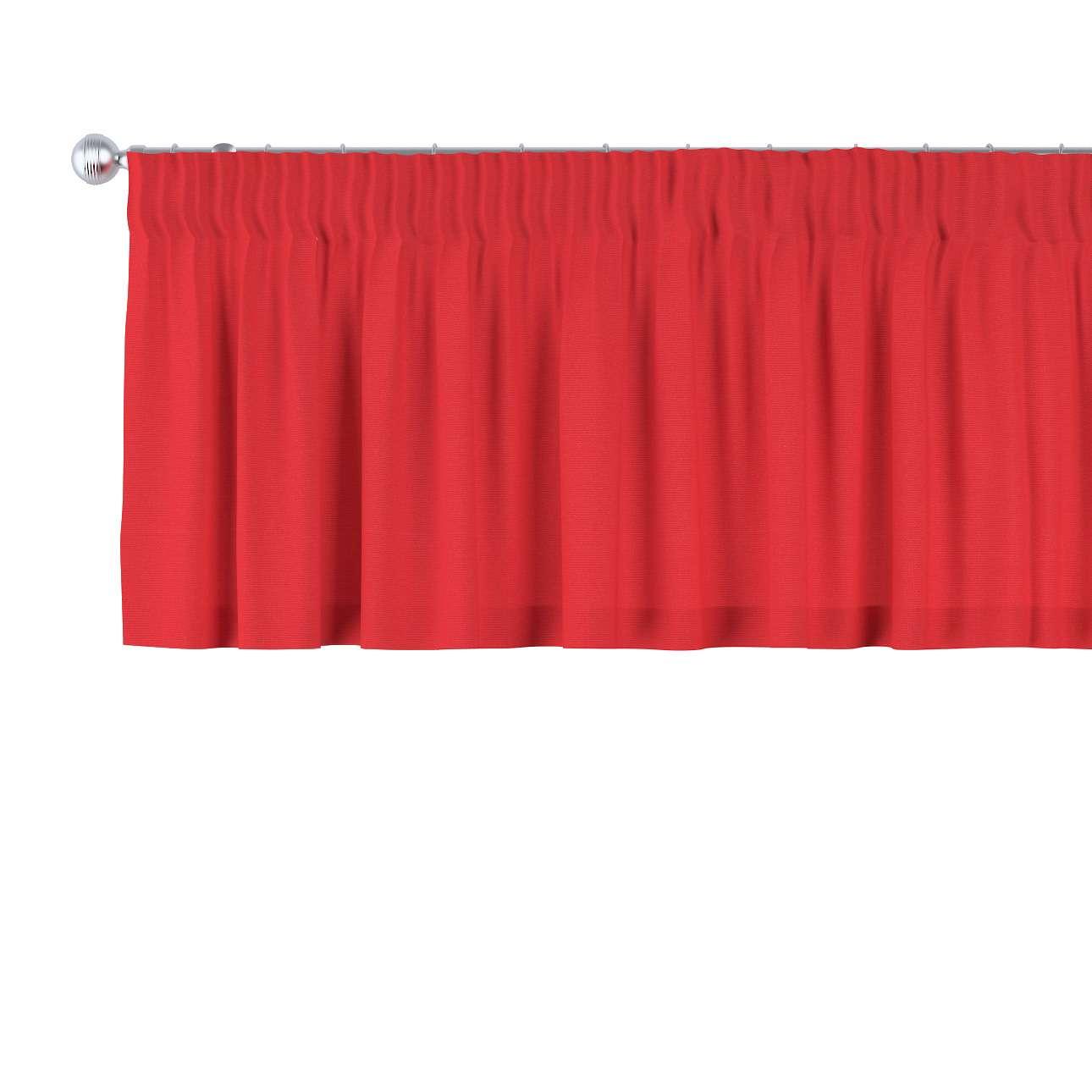 Gardinkappe med rynkebånd 130 × 40 cm fra kollektionen Loneta, Stof: 133-43