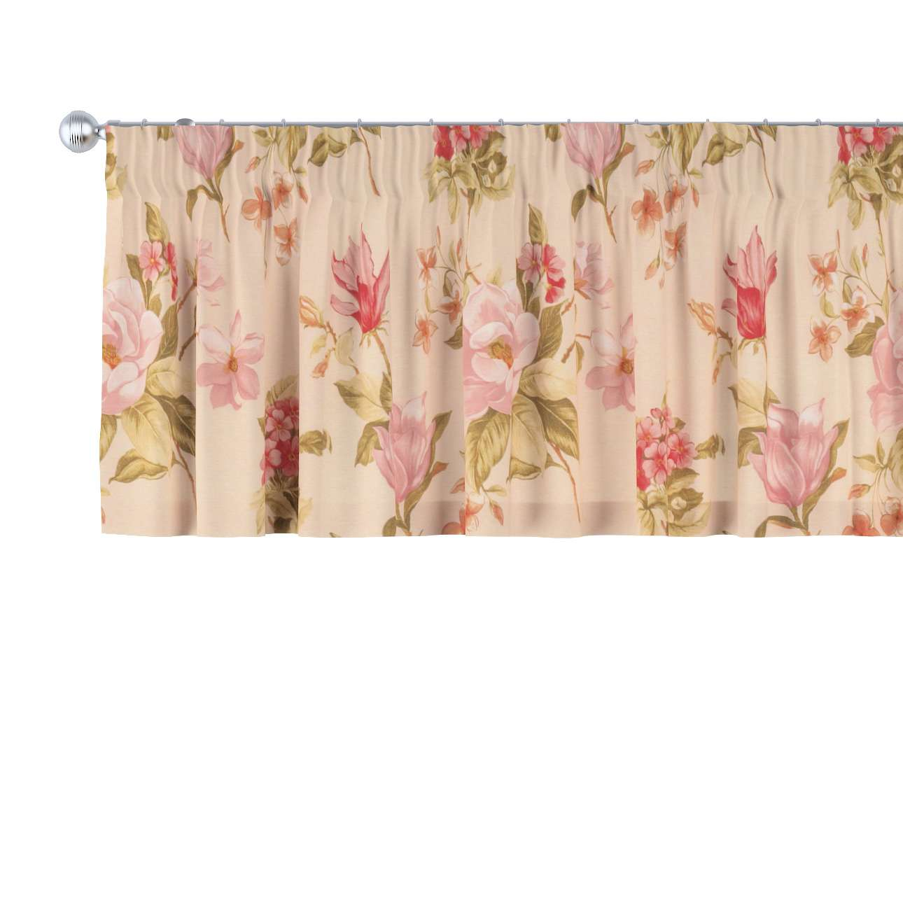 Pencil pleat pelmet in collection Londres, fabric: 123-05