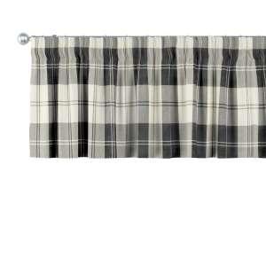 Gardinkappa med rynkband 130 x 40 cm i kollektionen Edinburgh , Tyg: 115-74