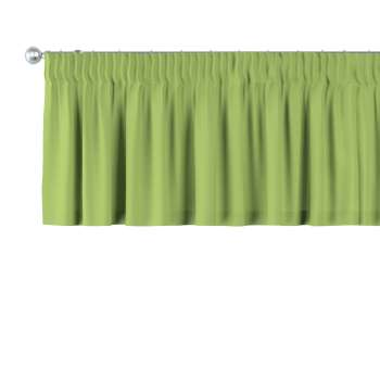 Pencil pleat pelmet in collection Panama Cotton, fabric: 702-27