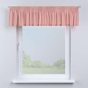 Lambrekin na taśmie marszczącej 130 x 40 cm w kolekcji Quadro, tkanina: 136-17
