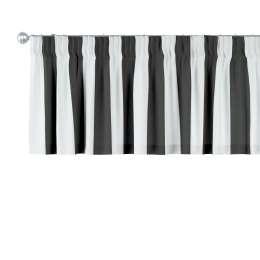 Trumpa užuolaidėlė (lambrekenas) pieštukinis klostavimas