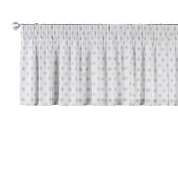 Pencil pleat pelmet in collection Ashley, fabric: 137-68