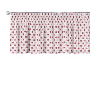 Lambrekin na taśmie marszczącej 130 x 40 cm w kolekcji Ashley, tkanina: 137-70