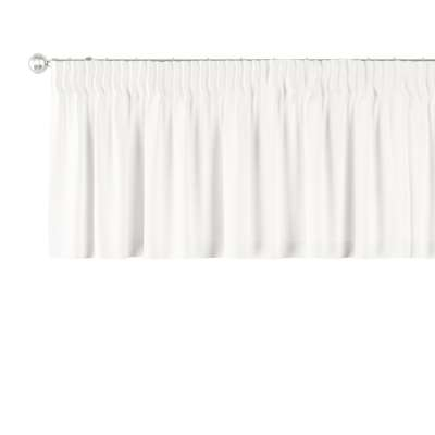 Kurzgardine mit Kräuselband von der Kollektion Cotton Panama, Stoff: 702-34