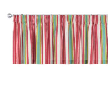 Pencil pleat pelmet 130 x 40 cm (51 x 16 inch) in collection Londres, fabric: 122-01