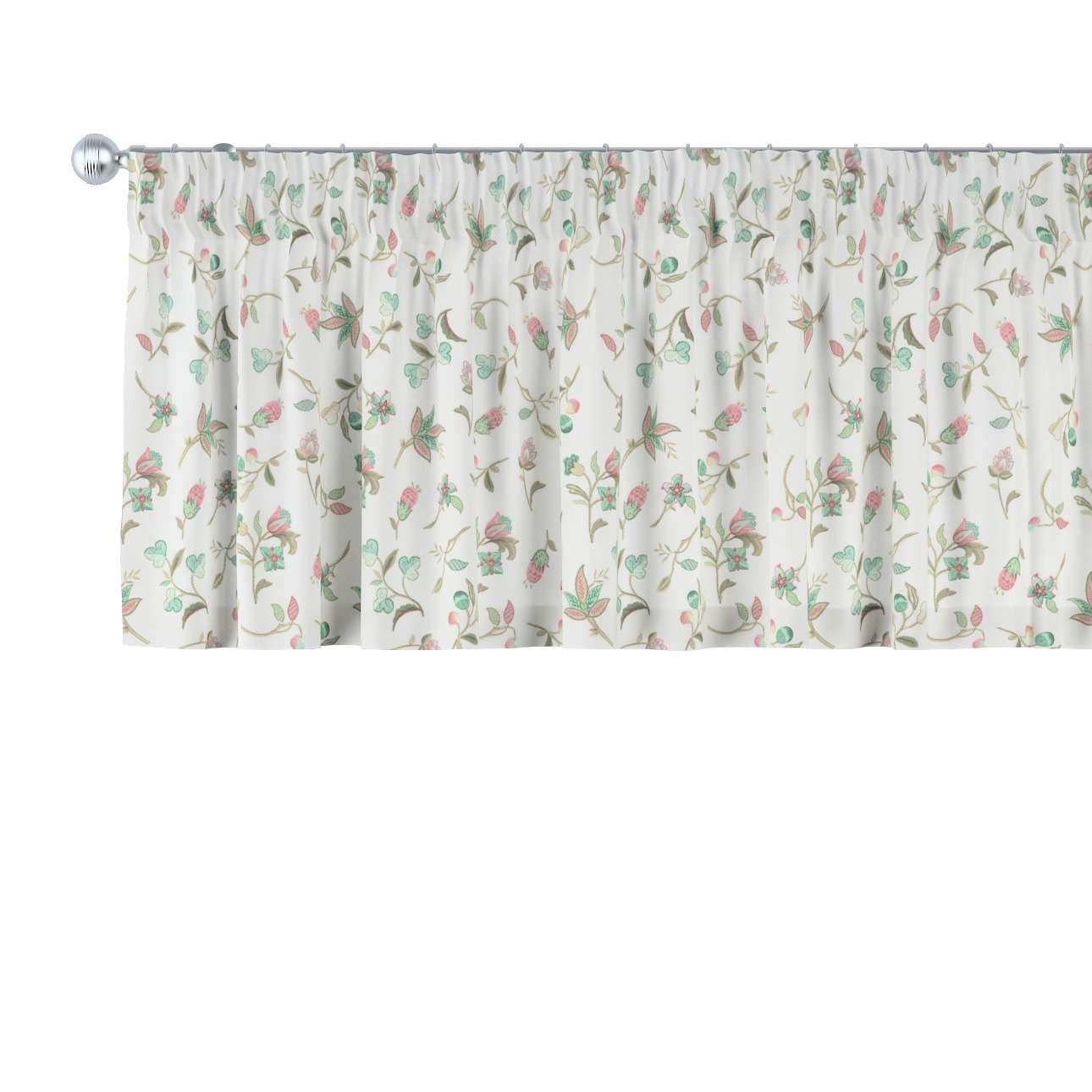 Gardinkappe med rynkebånd 130 × 40 cm fra kollektionen Londres, Stof: 122-02