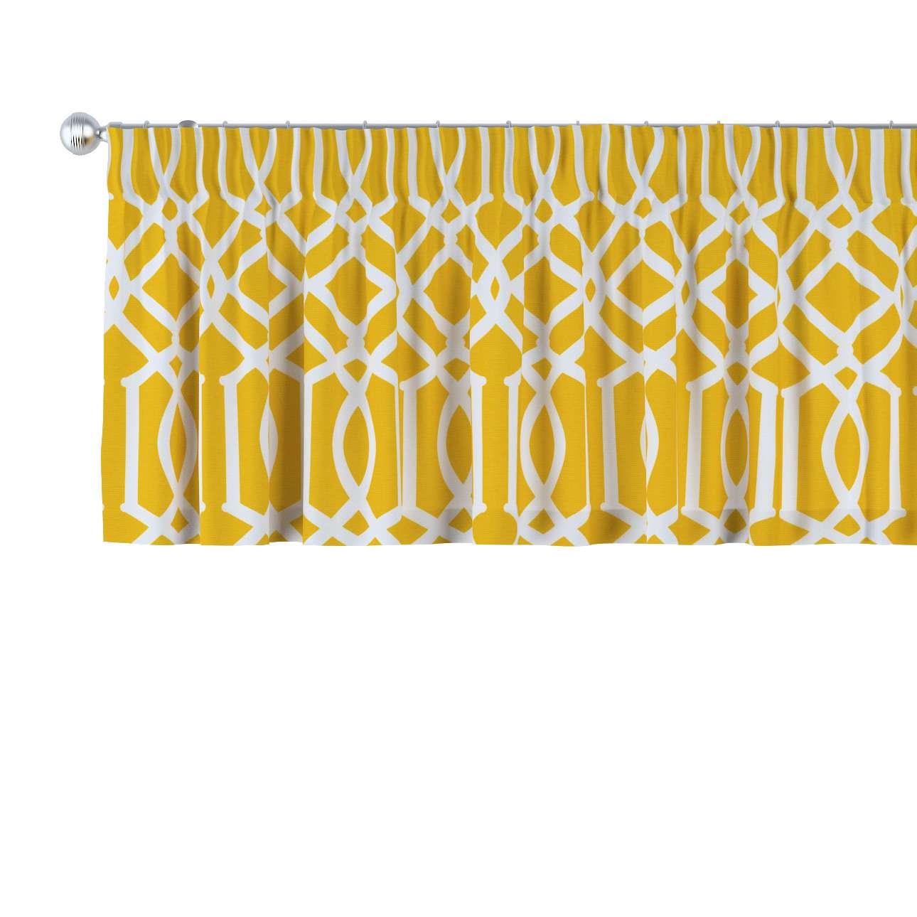 Gardinkappe med rynkebånd 130 × 40 cm fra kolleksjonen Comics, Stoffets bredde: 135-09