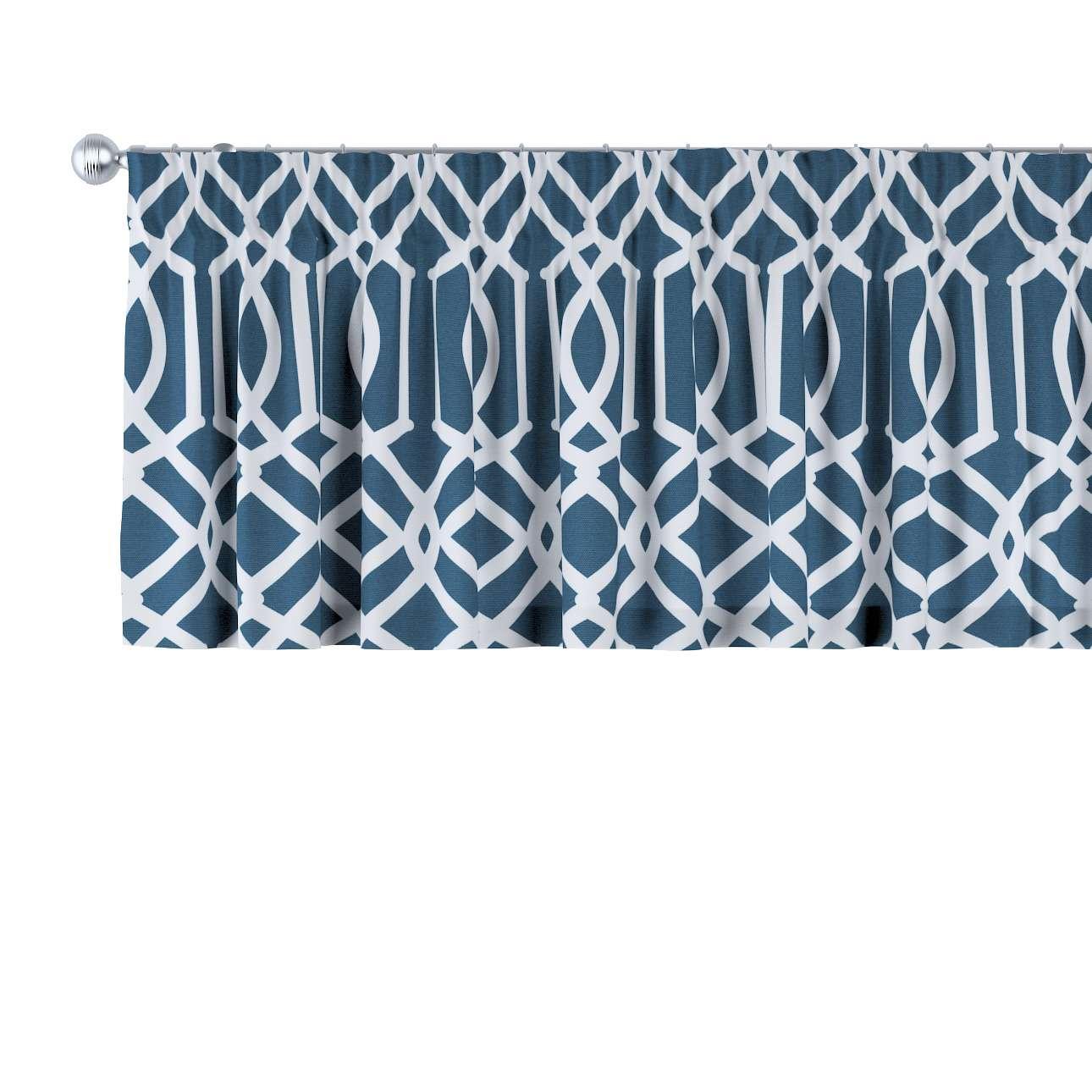 Gardinkappa med rynkband 130 x 40 cm i kollektionen Comics , Tyg: 135-10