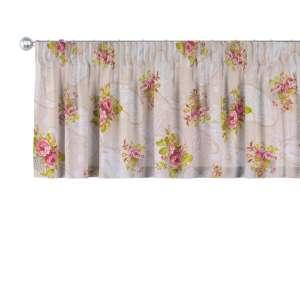 Kurzgardine mit Kräuselband 130 x 40 cm von der Kollektion Flowers, Stoff: 311-15