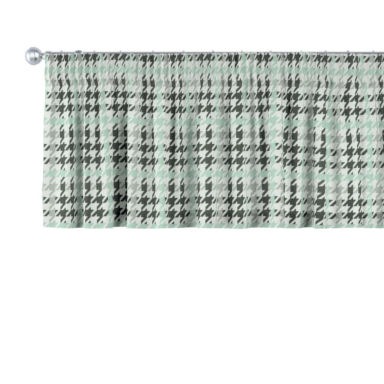 Gardinkappe med rynkebånd fra kolleksjonen Brooklyn , Stoffets bredde: 137-77