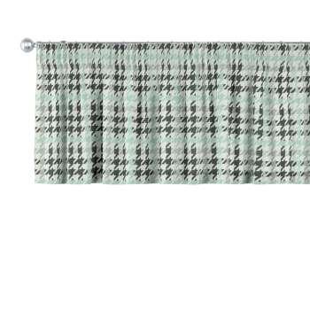Gardinkappe med rynkebånd 130 x 40 cm fra kolleksjonen Brooklyn , Stoffets bredde: 137-77