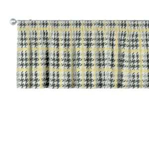 Lambrekin na taśmie marszczącej 130 x 40 cm w kolekcji Brooklyn, tkanina: 137-79