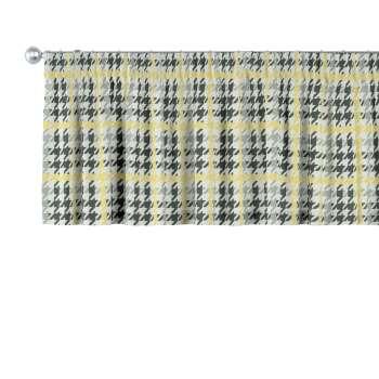 Gardinkappa med rynkband 130 x 40 cm i kollektionen Brooklyn , Tyg: 137-79