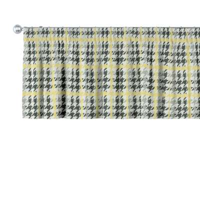 Kort gordijn 137-79 geel-zwart Collectie SALE