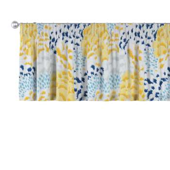 Pencil pleat pelmet in collection Brooklyn, fabric: 137-86