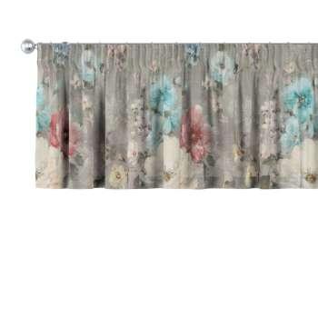 Krátky záves na riasiacej páske V kolekcii Monet, tkanina: 137-81