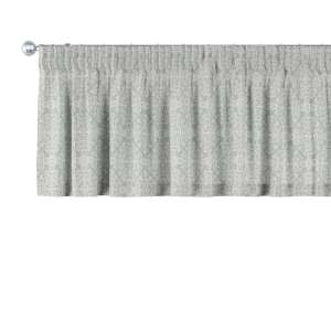 Gardinkappa med rynkband 130 x 40 cm i kollektionen Flowers, Tyg: 140-38