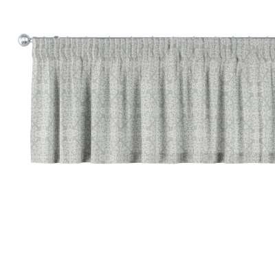 Kurzgardine mit Kräuselband von der Kollektion Flowers, Stoff: 140-38